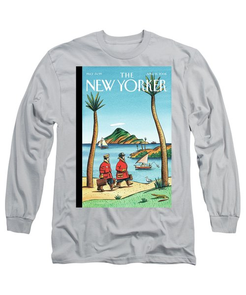 New Yorker April 21st, 2008 Long Sleeve T-Shirt