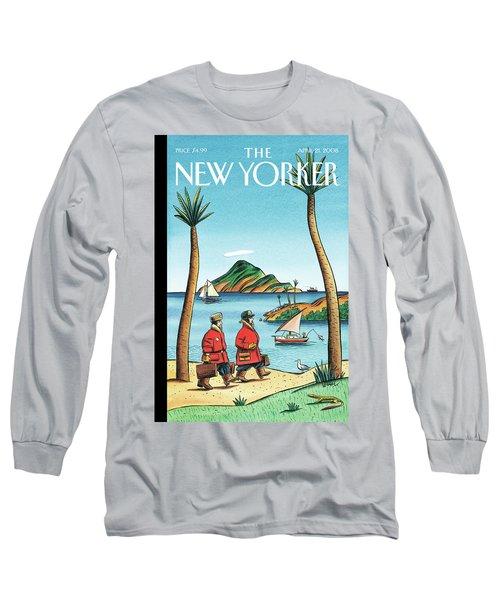 New Yorker April 21st, 2008 Long Sleeve T-Shirt