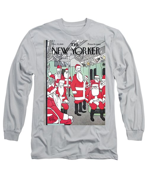 New Yorker December 25th, 1965 Long Sleeve T-Shirt