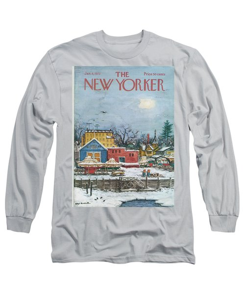 New Yorker January 6th, 1973 Long Sleeve T-Shirt