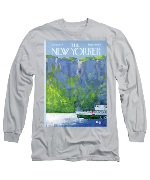 New Yorker July 12th, 1969 Long Sleeve T-Shirt