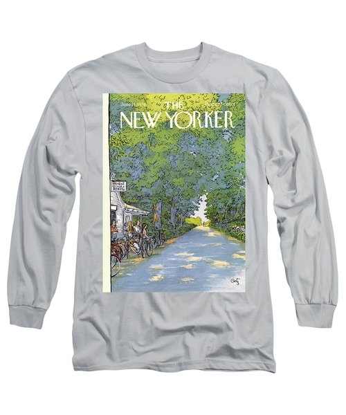 New Yorker June 21st, 1976 Long Sleeve T-Shirt