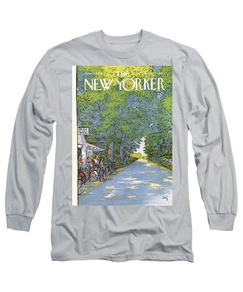 New Yorker June 21st, 1976 Long Sleeve T-Shirt
