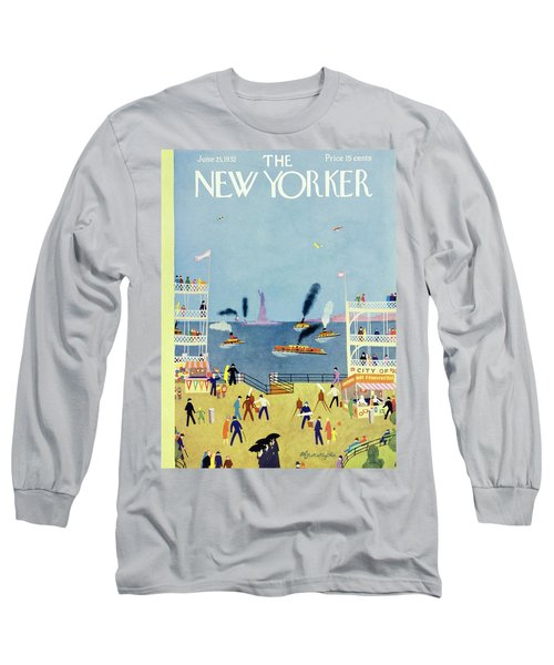 New Yorker June 25 1932 Long Sleeve T-Shirt