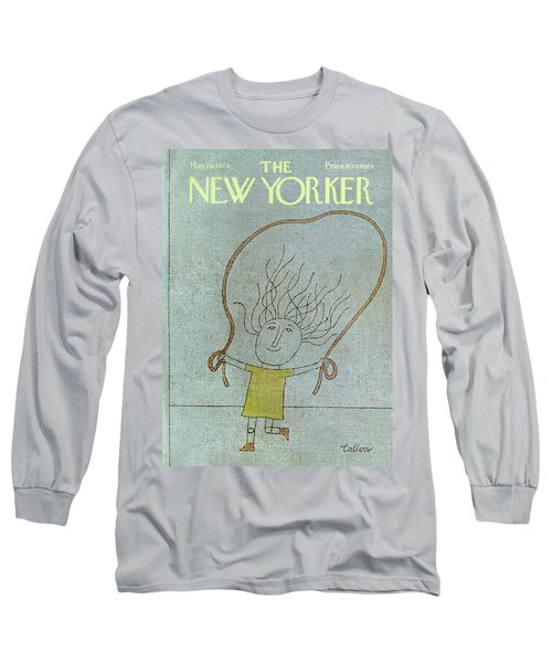 New Yorker May 26th, 1975 Long Sleeve T-Shirt