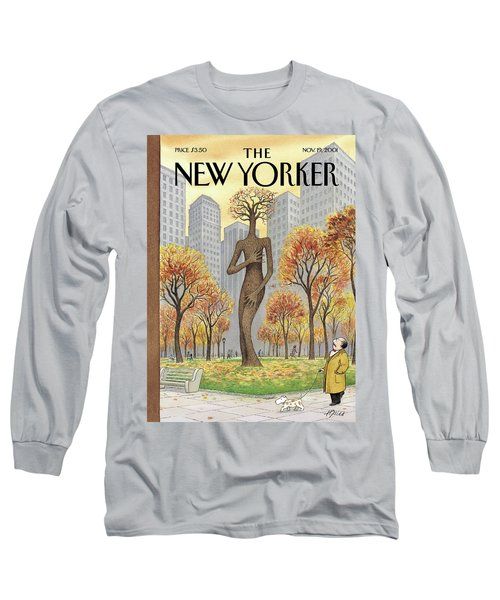 New Yorker November 19th, 2001 Long Sleeve T-Shirt