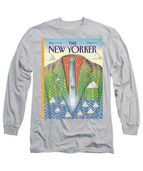 New Yorker September 16th, 1991 Long Sleeve T-Shirt