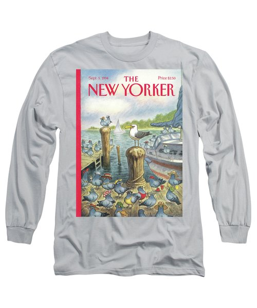 New Yorker September 5th, 1994 Long Sleeve T-Shirt