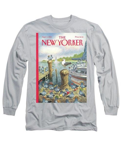 New Yorker September 5th, 1994 Long Sleeve T-Shirt