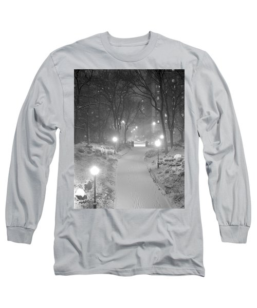 Night Storm New York Long Sleeve T-Shirt