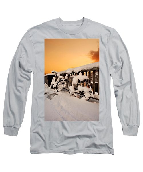 No Cycling Today Long Sleeve T-Shirt