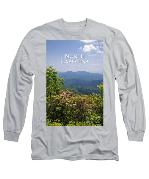 North Carolina Mountains Long Sleeve T-Shirt