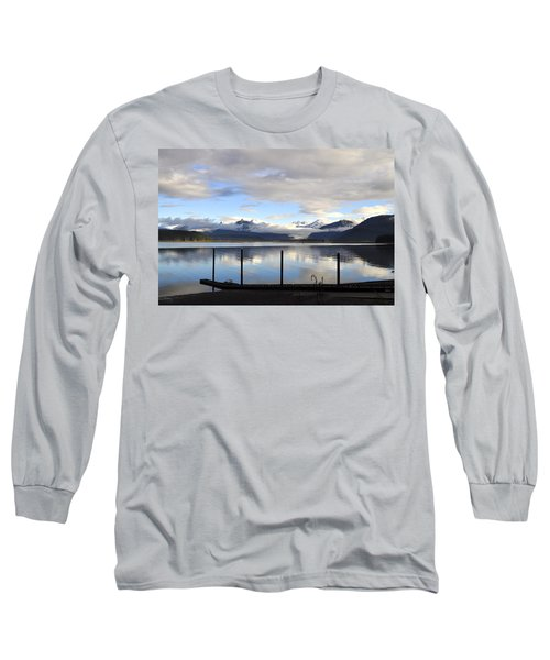 Long Sleeve T-Shirt featuring the photograph North Douglas Reflections by Cathy Mahnke