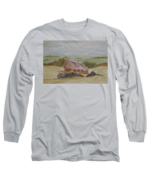 Long Sleeve T-Shirt featuring the painting North Of Winnemucca by Joel Deutsch