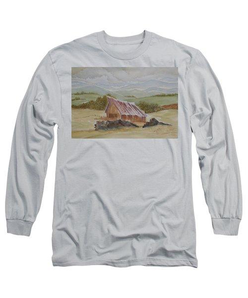 North Of Winnemucca Long Sleeve T-Shirt by Joel Deutsch