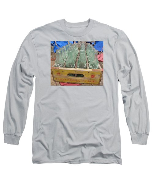 Long Sleeve T-Shirt featuring the photograph Nothing Like A Coke by Barbara McDevitt