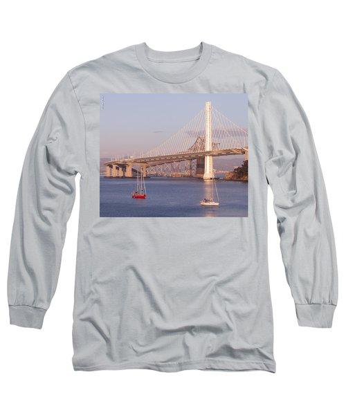 Oakland Bridge Long Sleeve T-Shirt