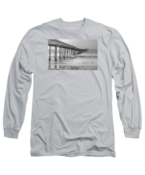 Ocean Beach Pier Long Sleeve T-Shirt