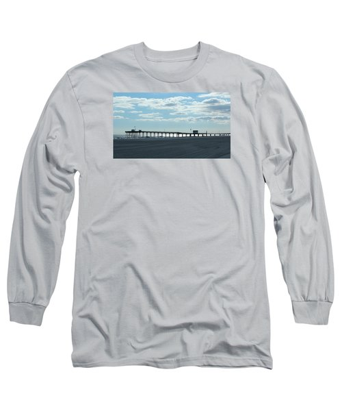 Ocean City New Jersey Pier Long Sleeve T-Shirt