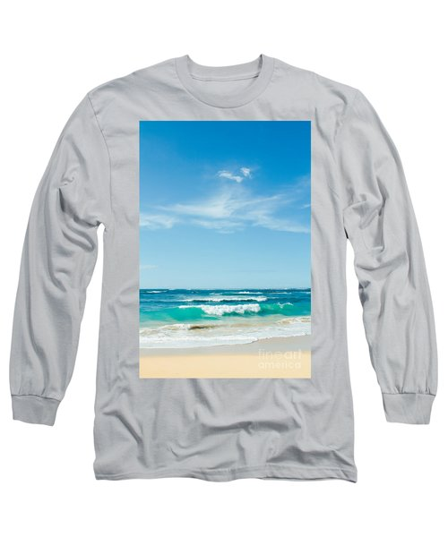 Long Sleeve T-Shirt featuring the photograph Ocean Of Joy by Sharon Mau