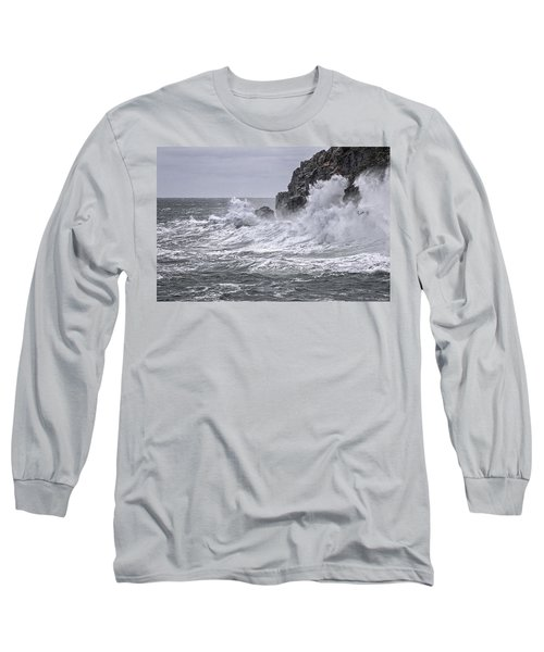 Ocean Surge At Gulliver's Long Sleeve T-Shirt