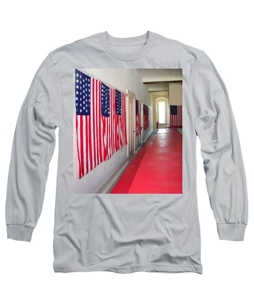 Oh Say Can You See Long Sleeve T-Shirt