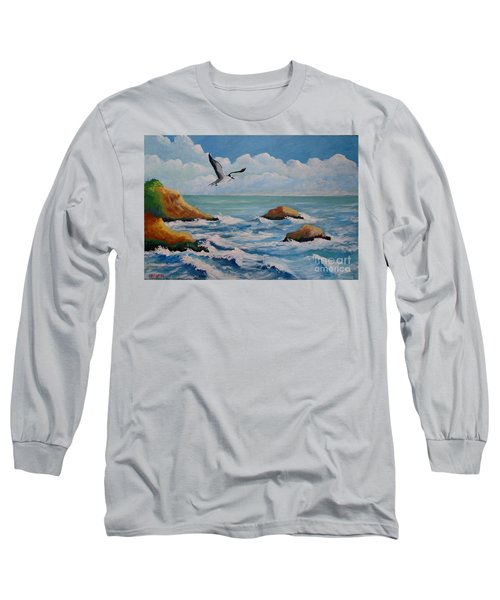 Oiseau Solitaire Long Sleeve T-Shirt