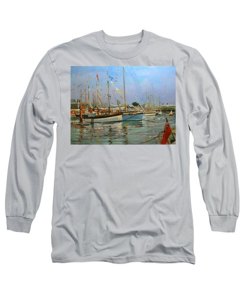 Old Gaffers  Yarmouth  Isle Of Wight Long Sleeve T-Shirt