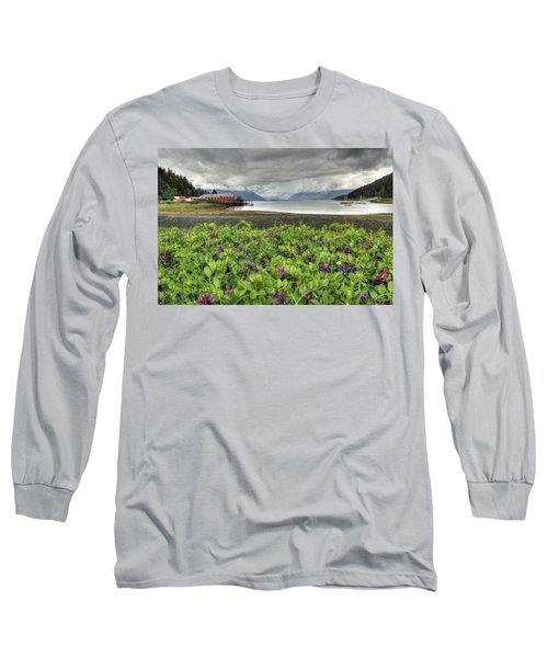 Old Haines Cannery Long Sleeve T-Shirt
