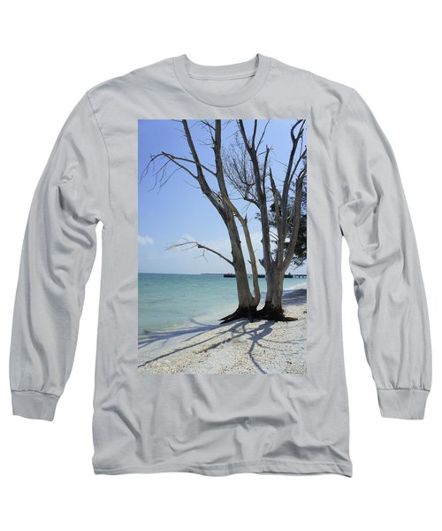 Long Sleeve T-Shirt featuring the photograph Old Tree by Laurie Perry
