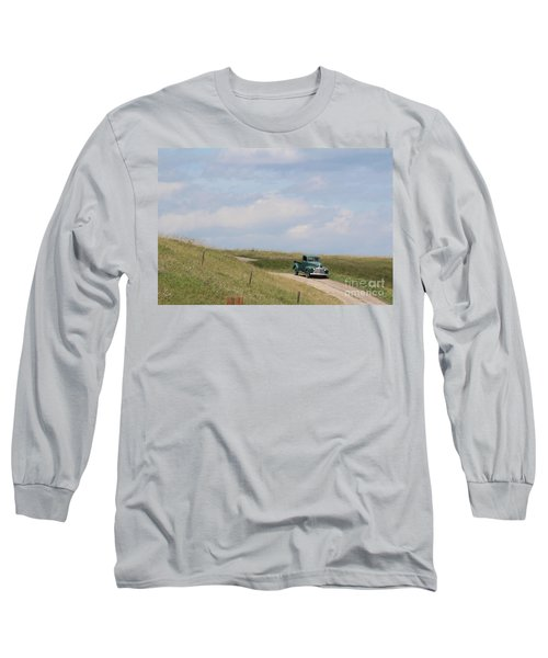 Long Sleeve T-Shirt featuring the photograph Old Truck by Ann E Robson