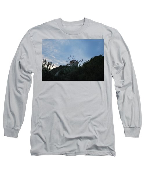 Old Wind Mill 1830 Long Sleeve T-Shirt