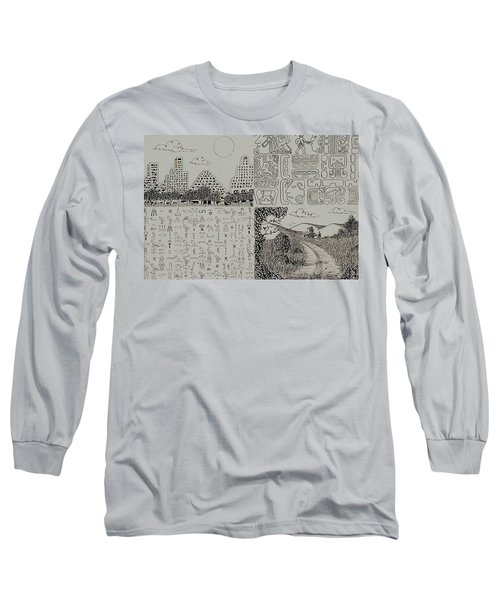 Old World New World Long Sleeve T-Shirt