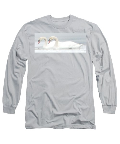 On A Misty Morning Long Sleeve T-Shirt