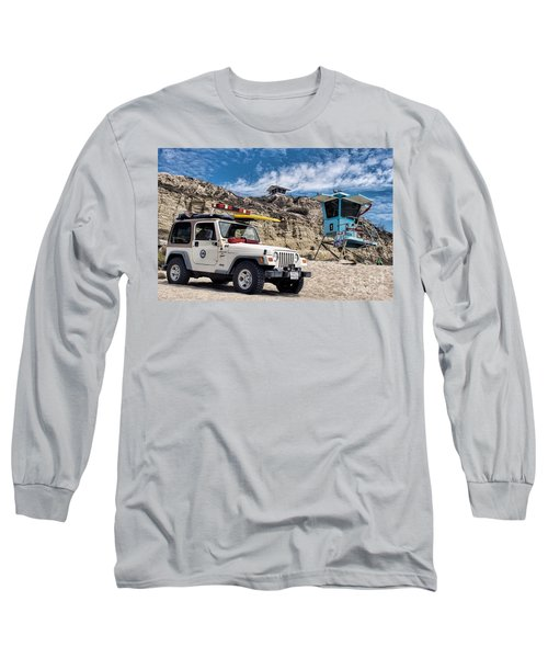 On Duty Long Sleeve T-Shirt by Peggy Hughes