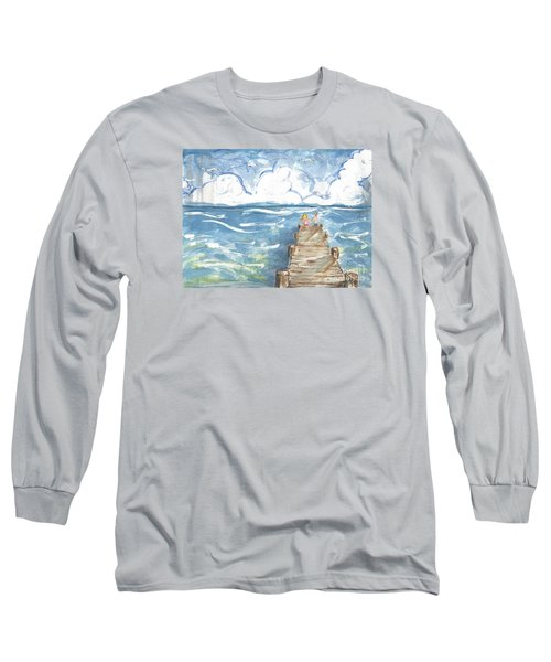 On The Dock Long Sleeve T-Shirt