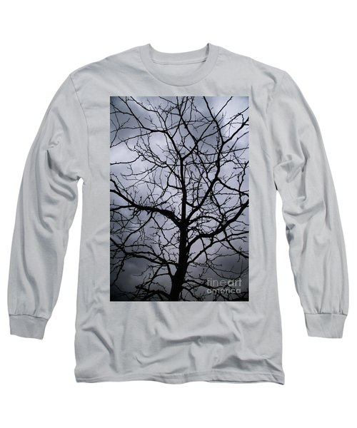 On Their Shoulders Held The Sky Long Sleeve T-Shirt by Linda Shafer