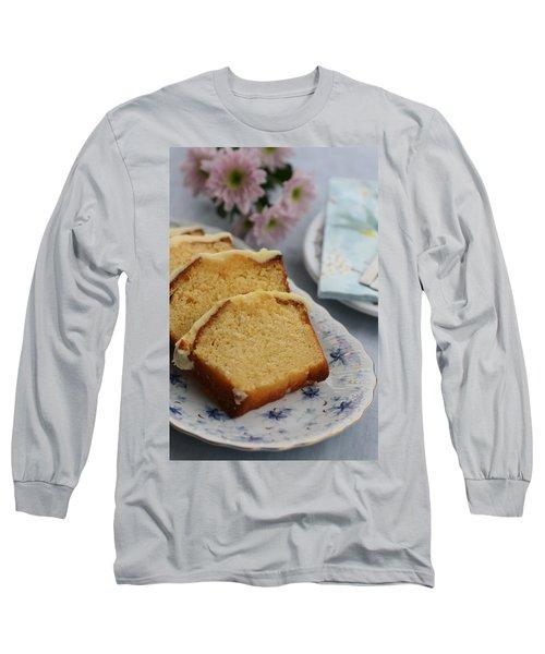 Orange Cake Long Sleeve T-Shirt