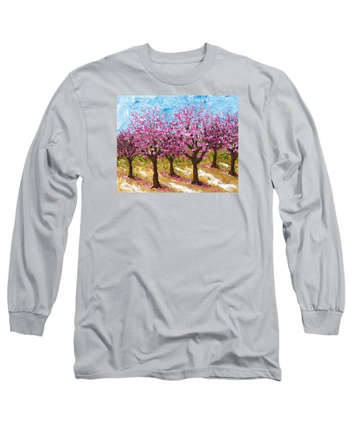 Orchard Long Sleeve T-Shirt by Katherine Young-Beck