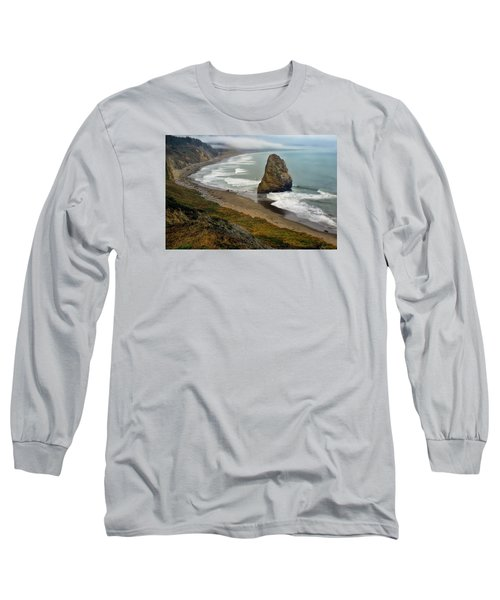 Oregon Coast Long Sleeve T-Shirt by Priscilla Burgers