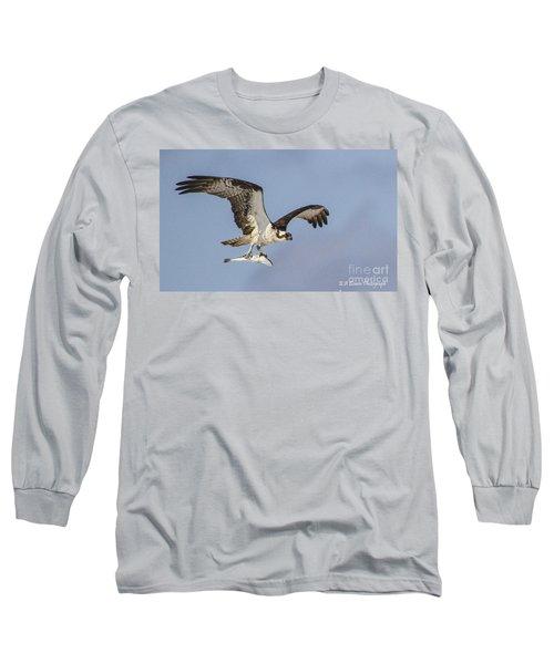 Osprey With Dinner Long Sleeve T-Shirt