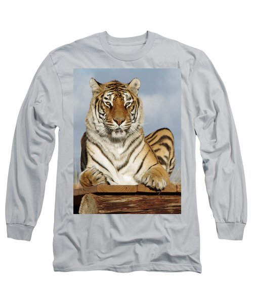 Out Of Africa Tiger 4 Long Sleeve T-Shirt