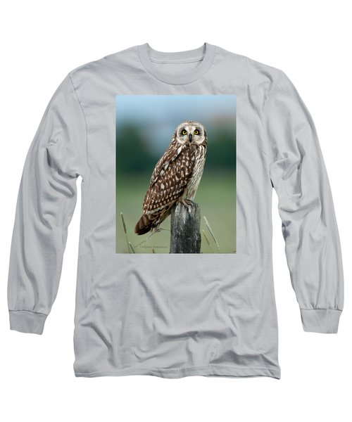 Owl See You Long Sleeve T-Shirt by Torbjorn Swenelius