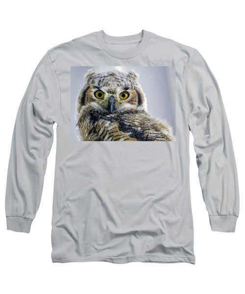 Owlet Close-up Long Sleeve T-Shirt