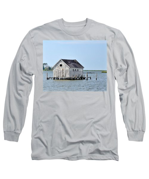 Oyster Shucking Shed Long Sleeve T-Shirt