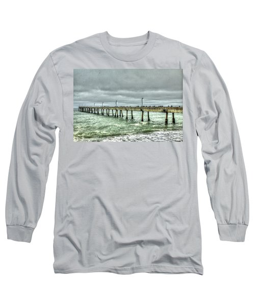 Pacifica Municipal Fishing Pier 7 Long Sleeve T-Shirt