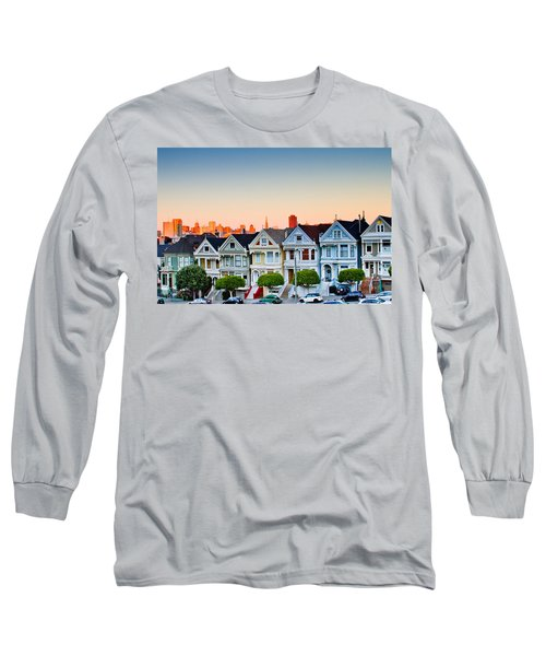 Painted Ladies Long Sleeve T-Shirt by Bill Gallagher