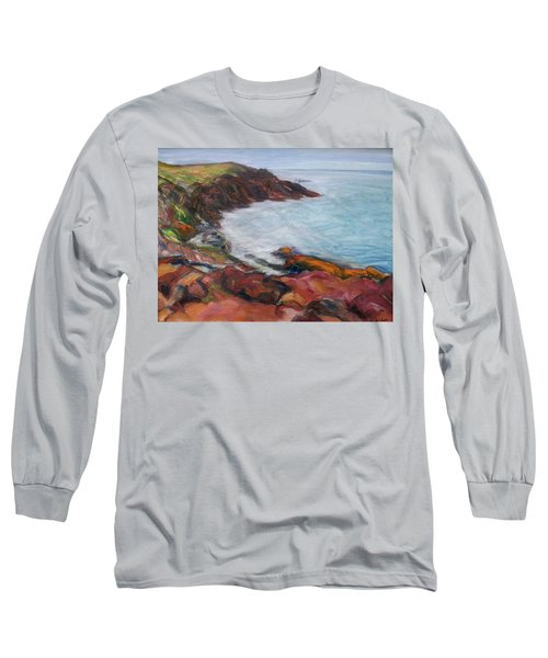 Painterly - Bold Seascape Long Sleeve T-Shirt