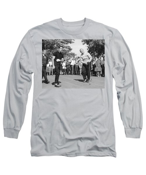 Palmer, Player And Nicklaus Long Sleeve T-Shirt