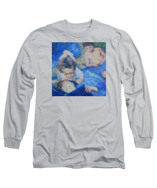 Papo's Putti Long Sleeve T-Shirt by Mark Robbins